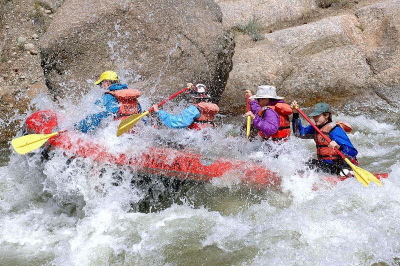 Osez le Rafting comme animation incentive pour vos équipes !