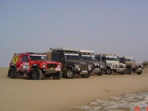 Organisation d'un Raid en 4X4 dans le désert